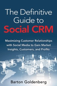 The Definitive Guide to Social CRM Book Cover