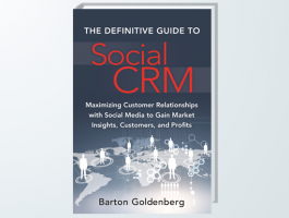 The Definitive Guide to Social CRM by Barton Goldenberg - Book cover