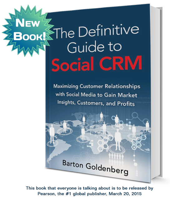 The Definitive Guide to Social CRM - book
