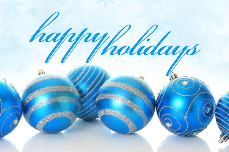 Happy Holidays - ISM