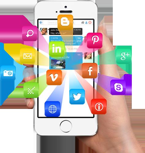mobile social crm