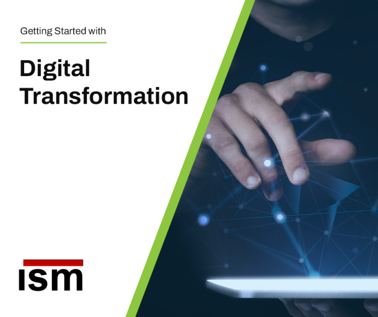 Digital transformation_hand reaching out